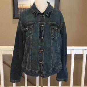 Torrid denim jean jacket EUC Size 1X